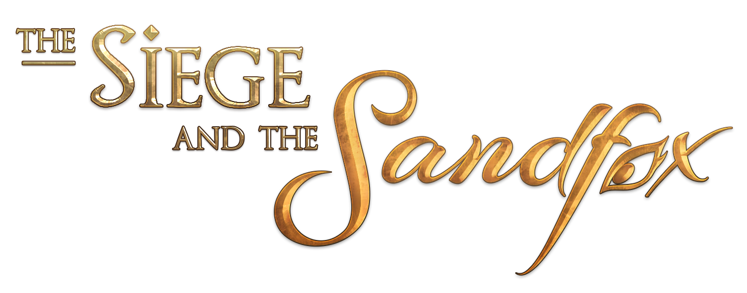 The Siege and the Sandfox Logo - Transparant Background